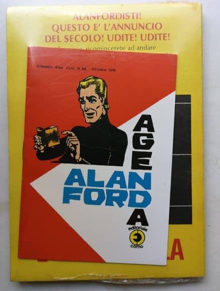 ALAN FORD 88 AGENDA