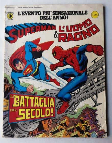 SUPERMAN E L'UOMO RAGNO