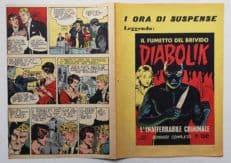 Pubblicità DIABOLIK