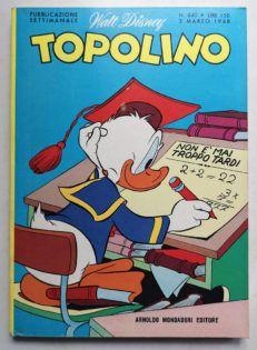 TOPOLINO LIBRETTO 640