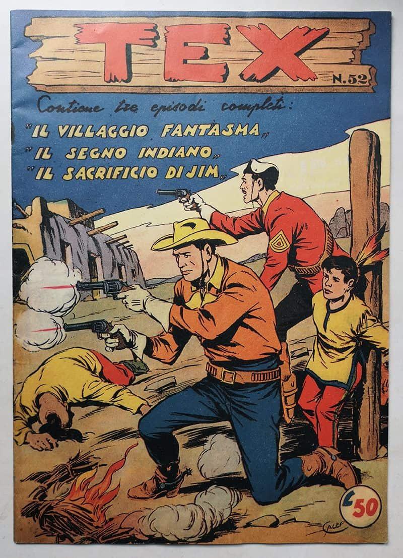 TEX ALBO D'ORO Prima Serie n 52 Audace RISTAMPA ANASTATICA | iCollezionisti
