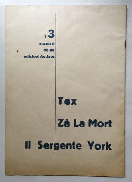 TEX ALBO D'ORO