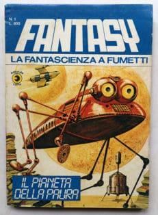 FANTASY la fantascienza a fumetti