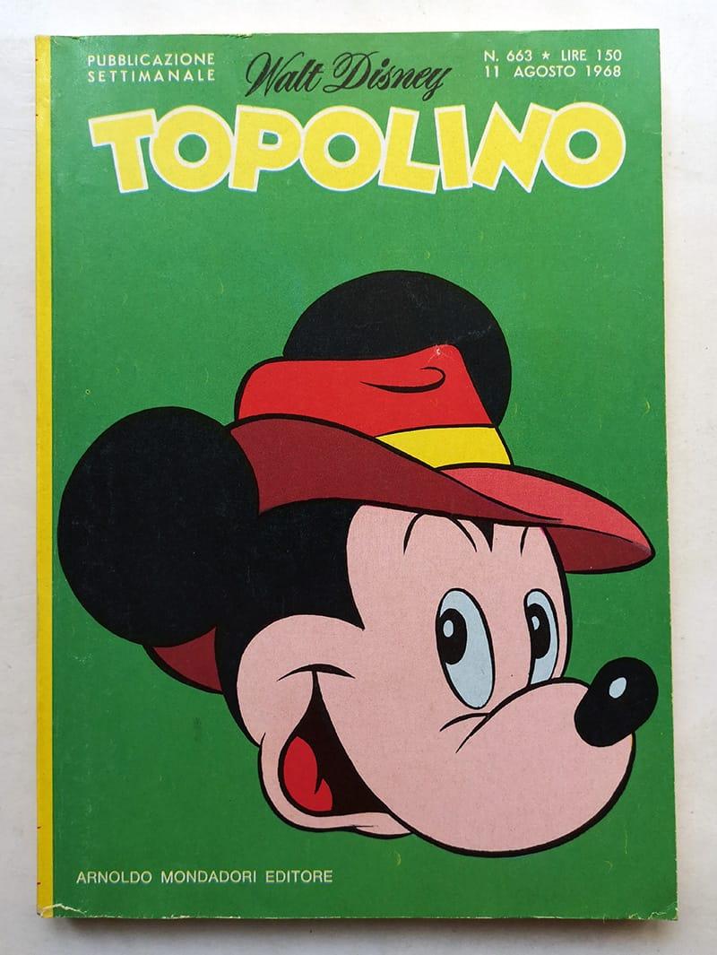 TOPOLINO LIBRETTO 663