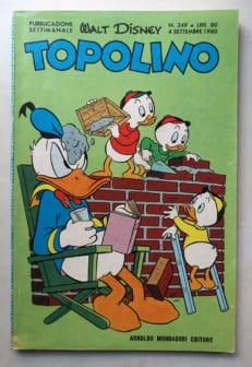 TOPOLINO LIBRETTO n 249
