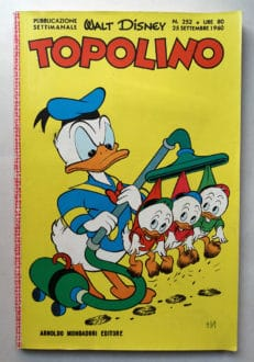 TOPOLINO LIBRETTO n 252