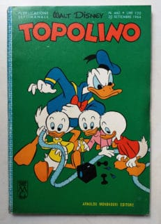 TOPOLINO LIBRETTO n 460